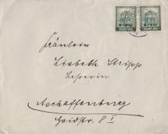 DR Brief Mef Minr.2x 463 Homburg 27.7.32 - Deutschland