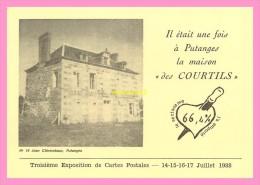 CPM 3eme EXPOSITION CARTES POSTALES PUTANGES Les Courtils - Putanges