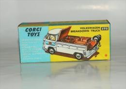 Corgi Boîte Repro Vide 490 Volkswagen Breakdown Truck - Giocattoli Antichi