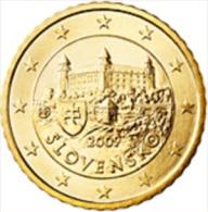 Slovakije 2011     50 Cent    UNC Uit De Rol  UNC Du Rouleaux  !! - Slovaquie