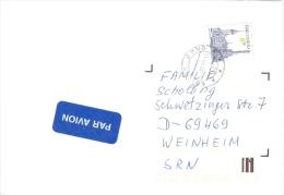 Tschechische Republik Brno TGST 1997 8 Kc. Olomouc Markt Rathaus Denkmal Luftpostbrief - Tschechische Republik