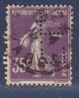 FRANCE - Perforé-Perforés-Perfin-   Perfins -  EL 99 - Ind. 7 - - Perfins