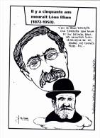 CPSM Hommage à Léon BLUM Front Populaire JAURES Tirage Limité  Illustrateur LARDIE - Personnages