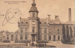 Marchin Marchienne Au Pont     Hotel De Ville     Scan 8021 - Marchin
