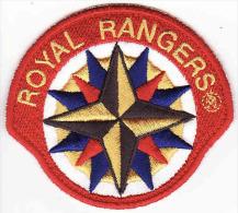 Écusson Tissu-Patch, Royal Rangers, 80 Mm - Scudetti In Tela