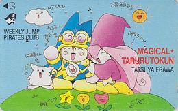 Télécarte Japon / 110-011 - MANGA - WEEKLY JUMP PIRATES CLUB - TALULU LE MAGICIEN - Japan ANIME Phonecard - 3516 - Comics