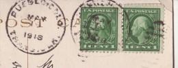 Carte à Vue Cathedral Spires, Garden Of Gods, Colorado Obl: ?? 19.May 1918 -> Osaka -Censored/Zensur/Censure US. - Etats-Unis