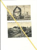 2 AK Sassnitz - Traject - Zug - Fährhafen - Ca. 1910 - Nicht Gelaufen - Guter Zustand - Ohne Zuordnung