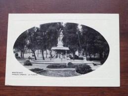 Parque Urbano Montevideo La Fuente / Anno 19?? ( Zie Foto Voor Details ) !! - Uruguay
