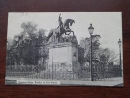 Buenos-Aires Estatua De San Martin / Anno 1910 ( Zie Foto Voor Details ) !! - Argentina
