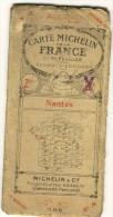 CARTE MICHELIN N° 18 . NANTES Et Ses Environs. - Cartes Routières