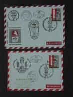 34. Ballonpost 27.10.1965 Eisenstadt - Brief Und Karte - Balloon Covers