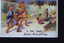 ENFANTS JEUX DE QUILLES MILITAIRE A TON TOUR - Cartes Humoristiques