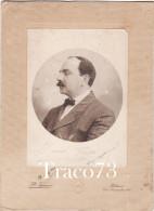 """PALERMO  /  1920 - Distinto Signore In Posa -  Foto  """" F.lli FIORENZA """" _  Formato 16,2 X 22,5 Cm - Lieux"""