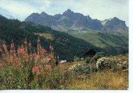 Vallée De La Clarée : Les Châlets De Lacha N°1867 Francou - France