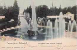 CPA Peterhof - Les Eaux De Péterhof - 1905 (7479) - Russland