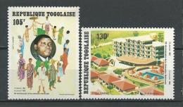 "Togo Aerien YT 465 & 466 (PA 465 & 466) "" Libération Nationale "" 1982 Neuf ** - Togo (1960-...)"