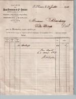 Document Du 31/07/1910 Sté Des EAUX THERMALES De Saint-Nectaire - 63710 Puy-de-Dôme - 1900 – 1949