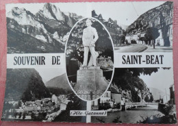 CARTE POSTALE DE SAINT BEAT DEP 31 - Autres Communes