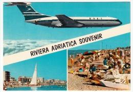 RIVIERA ADRIATICA SOUVENIR - AEREI - 1967 - Ohne Zuordnung