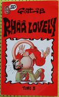 BD RHAA LOVELY (GOTLIB) - T3 - BE - Livre De Poche - Gotlib