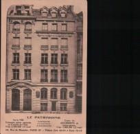 LE PATRIMOINE/ COMPAGNIE D'ASSURANCE à PARIS IXè. / Référence 4582 - Monuments