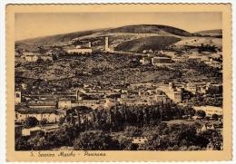S. SEVERINO MARCHE - PANORAMA - MACERATA 1952 - Macerata