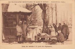 BARAMULLA (Indes) 1926 - Les Franciccaines Missionaires De Marie En Mission, Soins Des Malades A La Porte Du Dispensaire - Indien
