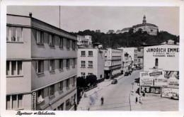 Pozdrow Z ???BODA (Böhmen) - Stempel HRONOV, Strassenansicht, 1941 - Böhmen Und Mähren