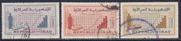 Iraq, Scott # 390-2 Used Census, 1965 - Iraq