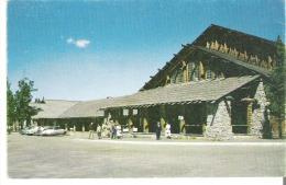 Old Faithful Lodge, Yellowstone Park, Wyoming