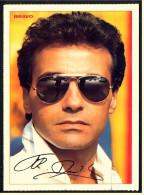Alte Repro Autogrammkarte  -  F.R. David  -  Ca. 1982 - Autogramme