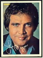 Alte Repro Autogrammkarte  -  Lee Majors  -  Ca. 1982 - Autogramme