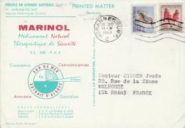Périple En Afrique Australe CP Pub Marinol Afrique Du Sud 2/5/63 Johannesburg - Afrique Du Sud (1961-...)