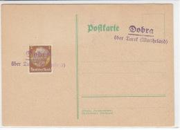 Landpost - Dobra über Turek (Wartheland) - Covers & Documents