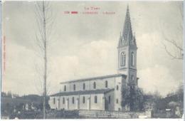 81 Lombers L'eglise 1940 - Otros Municipios