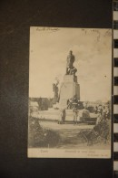 TUNISIE - CPA TUNISIE TUNIS Monument De Jules Ferry    1904    Belle Carte - Tunisie