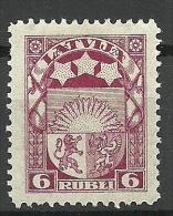 LETTLAND Latvia Lettonia 1922 Michel 82 * - Lettonie