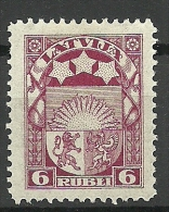 LETTLAND Latvia Lettonia 1922 Michel 82 * - Latvia