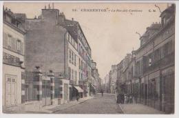CHARENTON : RUE DES CARRIERES - BOULANGERIE - ECRITE EN 1915 - 2 SCANS - - Charenton Le Pont