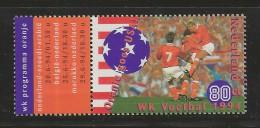 NEDERLAND, 1994, MNH Stamps, Soccer World Cup, Nr(s). MI 1516, #5563 - Period 1980-... (Beatrix)