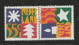 NEDERLAND, 1994, MNH Stamps, December Issue, Nr(s). MI 1528-1529, #5634 - Period 1980-... (Beatrix)