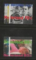 NEDERLAND, 1995, MNH Stamps, 100 Years Movies, Nr(s). MI 1535-1536, #5645 - Period 1980-... (Beatrix)