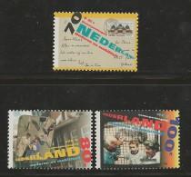 NEDERLAND, 1995, MNH Stamps, Summer Issue, Nr(s). MI 1540-1542, #5695 - Period 1980-... (Beatrix)