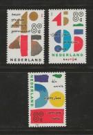 NEDERLAND, 1995, MNH Stamps, Ending 2nd World War Nr(s). MI 1543-1545, #5701 - Period 1980-... (Beatrix)