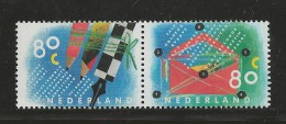 NEDERLAND, 1993, MNH Stamps, Letter Writing, Nr(s). MI 1488-1489, #5620 - Period 1980-... (Beatrix)
