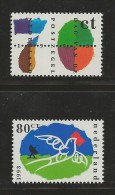 NEDERLAND, 1993, MNH Stamps, Day Of The Stamps, Nr(s). MI 1490-1491, #5625 - Period 1980-... (Beatrix)