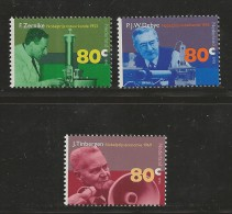 NEDERLAND, 1995, MNH Stamps, Nobel Prize Winners, Nr(s). MI 1553-1555, #5755 - Period 1980-... (Beatrix)