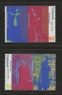 NEDERLAND, 1995, MNH Stamps, Dutch Cabaret, Nr(s). MI 1556-1557, #5756 - Period 1980-... (Beatrix)