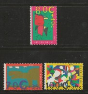 NEDERLAND, 1995, MNH Stamps, Child Welfare, Nr(s). MI 1558-1560, #5762 - Period 1980-... (Beatrix)